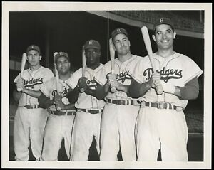 Jackie-Robinson-1953-World-Series-Brooklyn-Dodgers-Type-1-Original-Photo