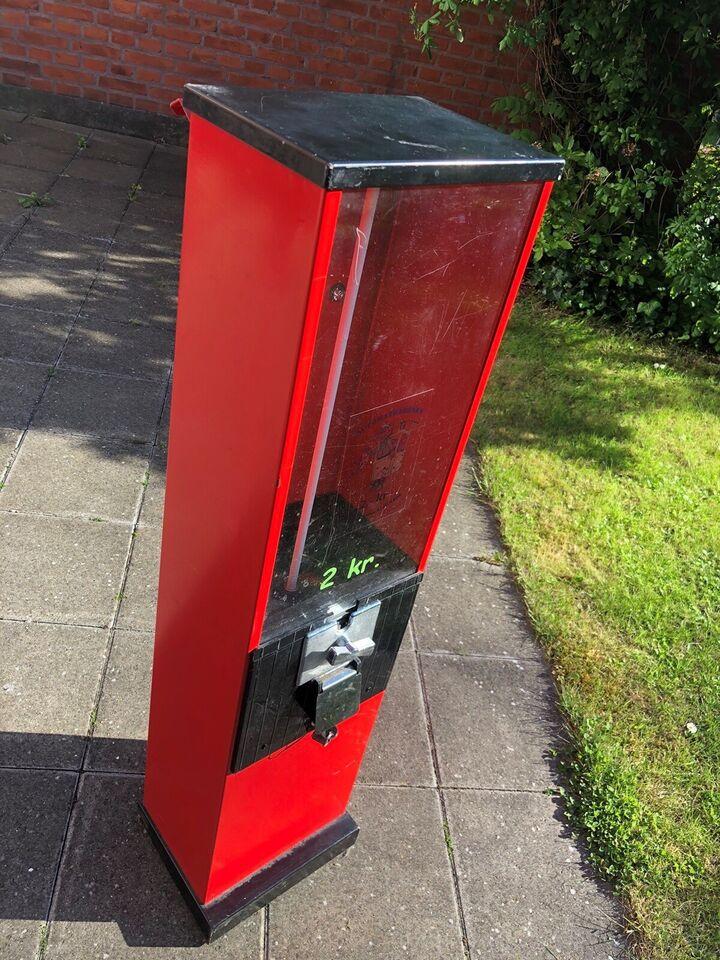 Slik/tyggegummi automat