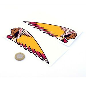 Indian-Motorcycles-Sticker-Decal-Vinyl-Motorbike-STICKERS-100mm-x2-Handed
