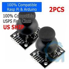 2pcs Dual Axis Xy Joystick Module Control Lever Sensor Ky 023 Ps2 Arduino