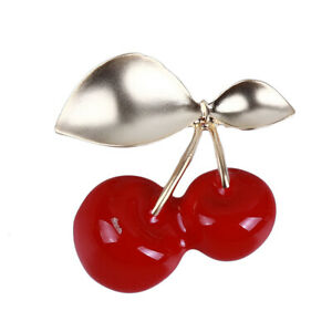 Simple-Exquisite-Red-Cherry-Fruit-Brooch-Enamel-Brooch-Pin-For-Women-Gift-WD