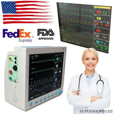 Icu Patient Monitor Human Multi Parameter Ccu Ecg Temp Resp Spo2 Ecg Cms8000 Fda
