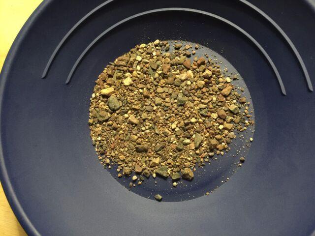 Unsearched Gold Paydirt Panning Arizona Bradshaw