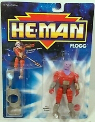 The New Adventures Of He-Man - Flogg  Mattel Masters Of The Universe (MOC)