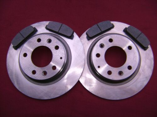 Bremsscheiben Bremsbeläge hinten für Mazda 323 VI BJ 6 GG GY GH Kombi Premacy CP