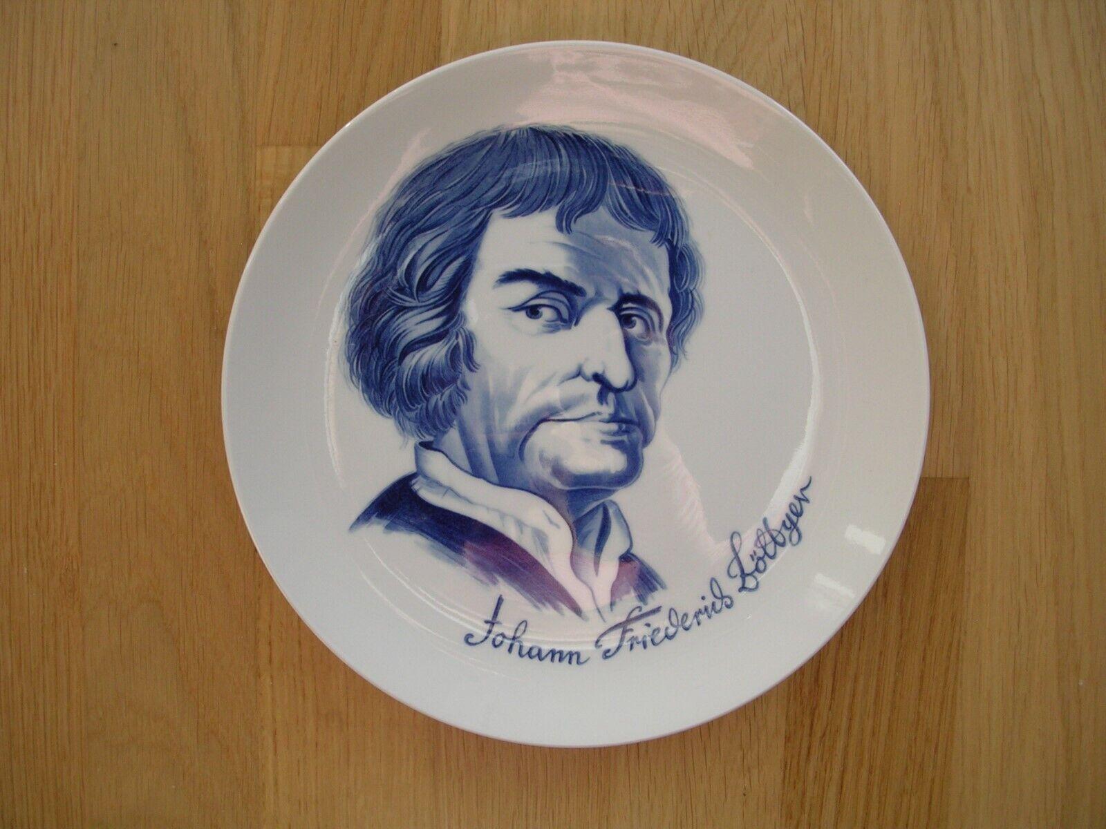 Image 01 - Meissen Plate Wall Plate Wall Commemorative Plate Johann Fried Erich Böttger