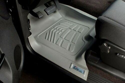 2001-2006 GMC Sierra 1500 Crew Cab 2nd Row Sure-Fit Floor Mats