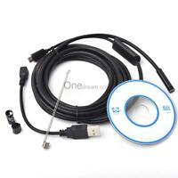 5 Pcs Left 2m 6led 7mm Android Phone And Pc Mini Endoscope Special