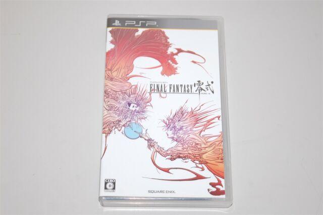 Final Fantasy Type - 0 - Japan Sony PSP game