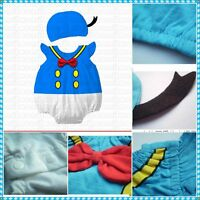 Baby Toddler Boy Girl Halloween Fancy Dress Party Costume Outfit Clothes+HAT Set