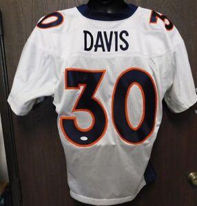 d4e24377 Details about Terrell Davis Signed Denver Broncos Nike NFL Jersey Size 48  JSA Authenticated