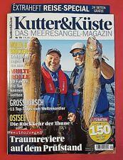 Top Zustand ungelesen Kutter /& Küste Nr.74 Unglaubliches Brandungsangeln