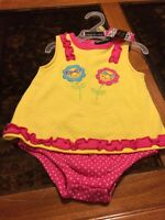 Toddler Girl One Piece Size 3-6 M Darlings