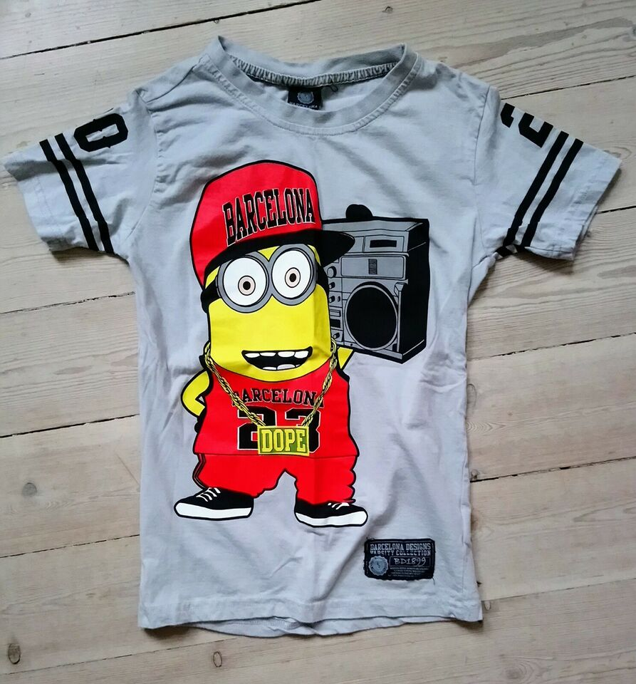 T-shirt, Bomuld, Barcelona designs