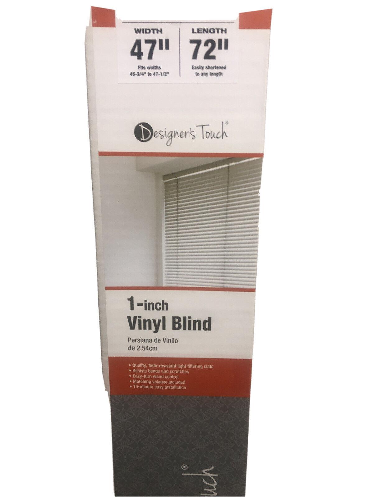 1 x 1 x 1 oz English Designers Touch 2471594 3.5 PVC Vertical Blinds 15.34 fl 95 x 60 White Plastic