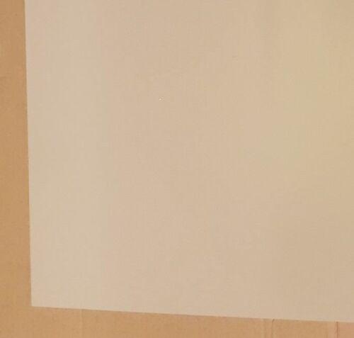 3mm Beige Smooth Polypropylene Sheet 800mm x 600mm