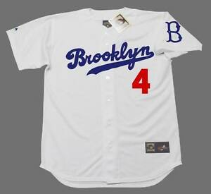 Image is loading DUKE-SNIDER -Brooklyn-Dodgers-Majestic-Cooperstown-Home-Baseball- e26c0b246c0