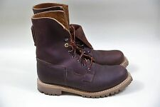 """#4 Timberland Boot Company 8"""" Engineer Boots Size 8 MADE IN USA"""