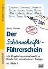 Der Schönschrift-Führerschein von Bernd Wehren (2013, Taschenbuch)