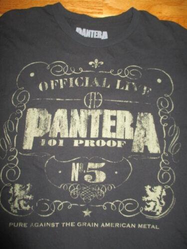Official Live PANTERA Proof No 5 Pure Against Grain American Met