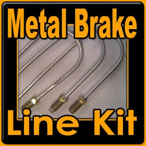 Metal brake line kit Chevy,GMC trucks 1988 1989 1990 1991 1992 1993 1994 - 1997