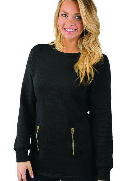 Monogrammed Tunic Sweatshirt by Charles River