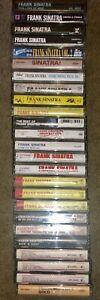 LOT-OF-25-DIFFERENT-FRANK-SINATRA-CASSETTE-TAPES