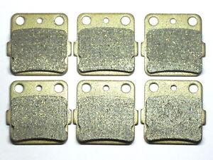 Front-Rear-Sintered-Brake-Pads-For-Honda-TRX-250X-300EX-400EX-Free-Shipping-3SET