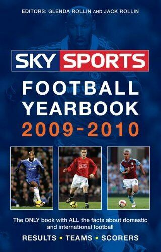 Sky Sports Football Yearbook 2009-2010 By Jack Rollin