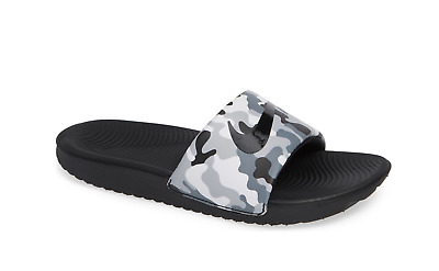 Nike Kawa Slide Boys Kids Size Wolf