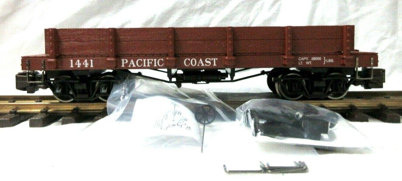 Bachuomon 95728 South Pacific Coast 20' GONDOLA W Metal ruedas
