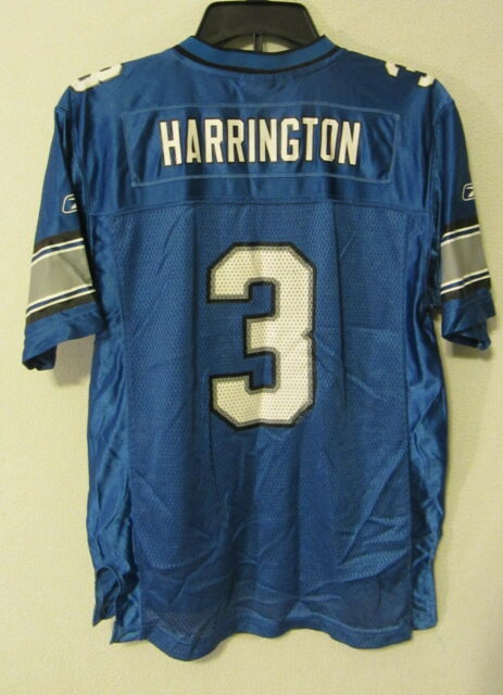 af94d974 Detroit Lions Reebok jersey #3 Joey Harrington youth/boys/kids L 14-16 ~ EUC