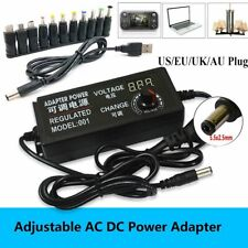 3 To 24v Voltage Variable Adjustable Acdc Power Supply Adapter11tips Connector