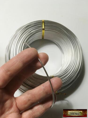 M00545-58 MOREZMORE 2mm Aluminum Wire Annealed Puppet Sculpture Armature 58m