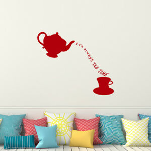 Image Is Loading Alice In Wonderland Wall Decal Quotes It 039