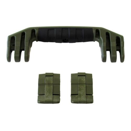 /& handle 1 kit. 2 New Pelican OD Green 1535 replacement latches