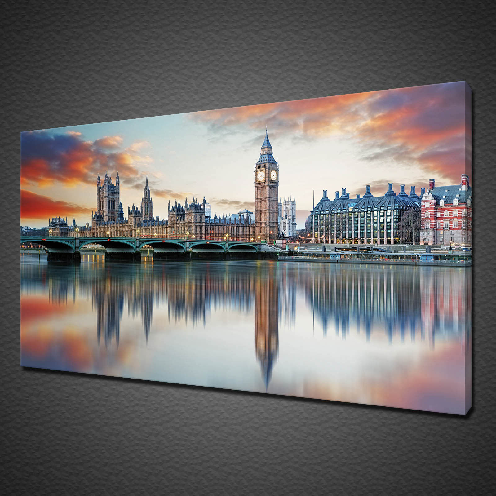 BIG Ben Londra Westminster Foto Su Tela Stampa Wall Art Home Decor