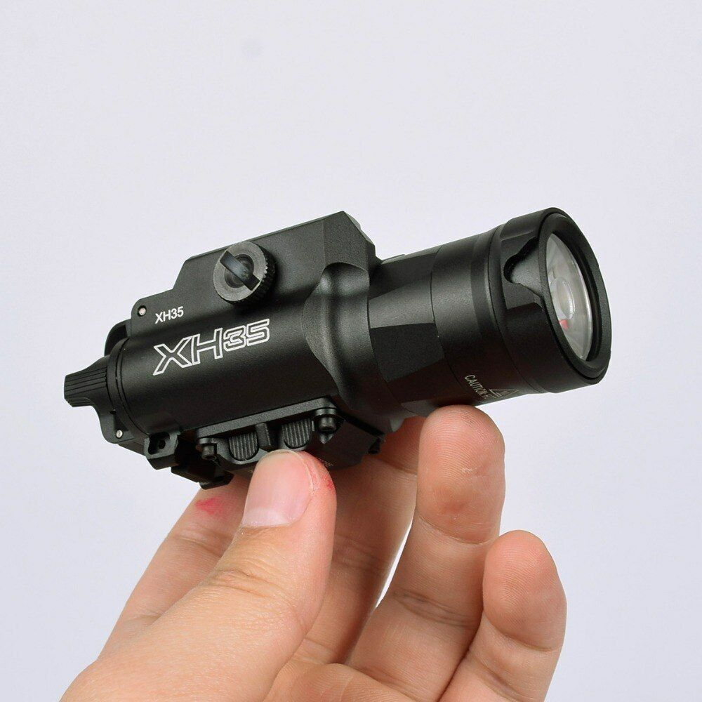Ultra-High Dual Output XH35 Weapon Light White LED Tactical Strobe White Light