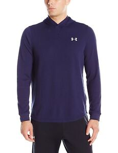 New Mens Under Armour Athletic Lightweight Waffle Hooded Hoodie