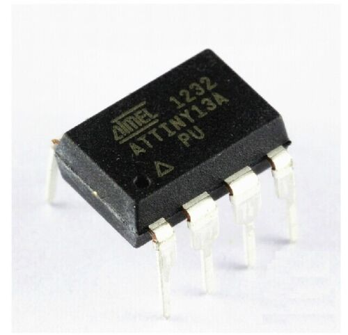 10PCS ATTINY13A-PU ATTINY13A DIP8 IC MCU AVR 1K FLASH 20MHZ NEW