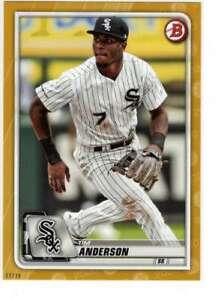Tim-Anderson-2020-Bowman-5x7-Gold-97-10-White-Sox