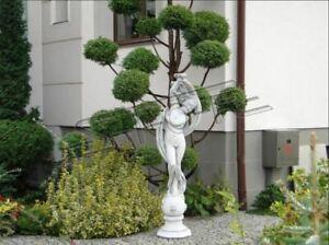 Figur-Statue-XXL-Garten-Figur-Wasser-Saeulen-Skulptur-Statuen-Skulpturen-Figuren