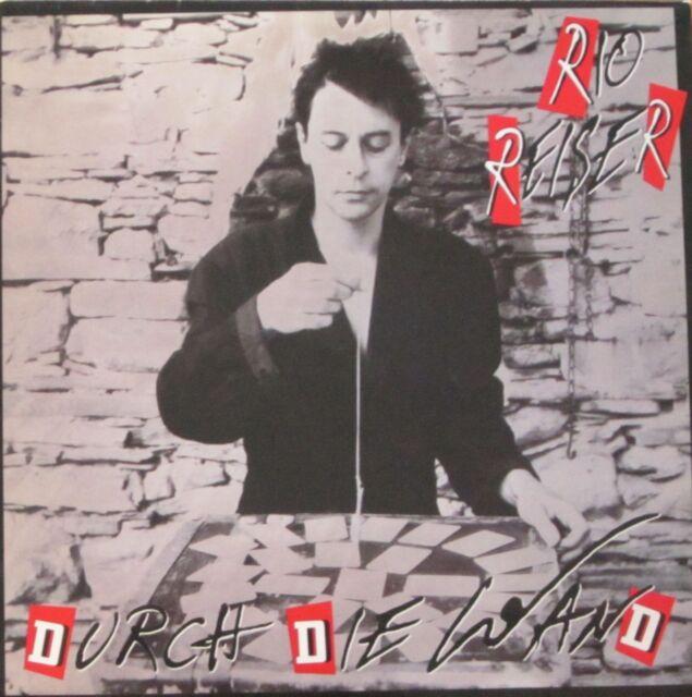 Rio Reiser - Durch die Wand (Columbia Vinyl-LP Schallplatte OIS Germany 1991)