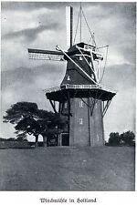 Windmühle in Holtland Landkreis Leer Alte Bauten 1932