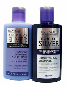 Image result for provoke touch of silver shampoo and conditioner