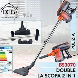 Scopa-Elettrica-Aspirapolvere-DCG-Senza-Sacchetto-Ciclonica-600W-BS3070