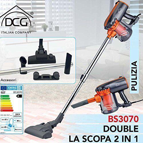 Scopa Elettrica Aspirapolvere DCG Senza Sacchetto Ciclonica 600W BS3070