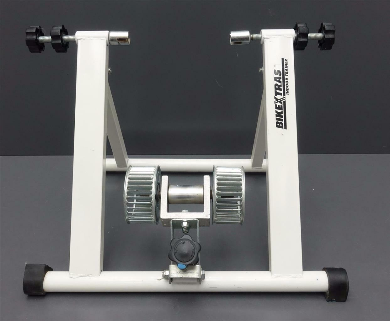 Bike Xtras Indoor Trainer Stationary Bicycle Cycle Stand Exercise Training Folds