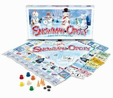 Snowman-Opoly (SnowmanOpoly) A Snow Man themed Monopoly Game NEW in BOX