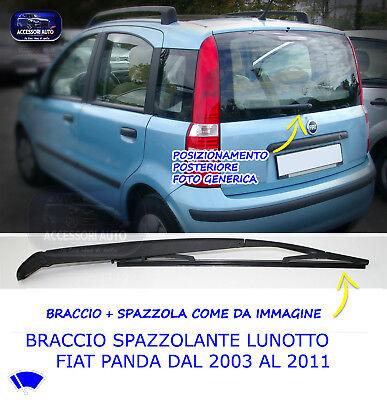 Tergicristalli Posteriore Braccio Copertura per Fiat 500 Ab 2007